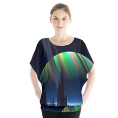 Planets In Space Stars Blouse