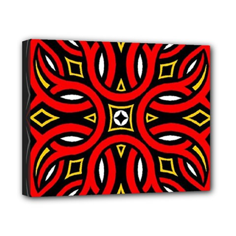 Traditional Art Pattern Canvas 10  X 8