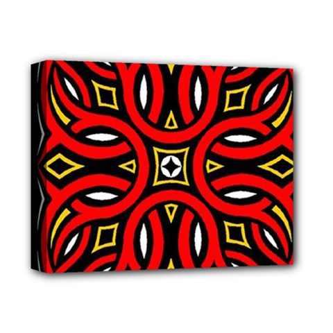 Traditional Art Pattern Deluxe Canvas 14  X 11