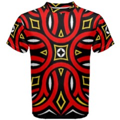 Traditional Art Pattern Men s Cotton Tee