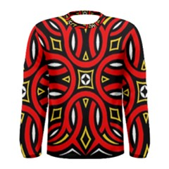 Traditional Art Pattern Men s Long Sleeve Tee