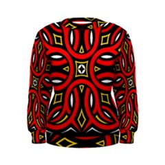 Traditional Art Pattern Women s Sweatshirt