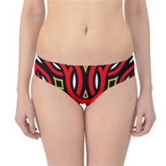 Traditional Art Pattern Hipster Bikini Bottoms