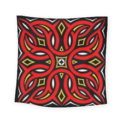 Traditional Art Pattern Square Tapestry (small)