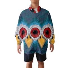 Bird Eyes Abstract Wind Breaker (kids)