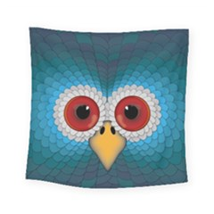 Bird Eyes Abstract Square Tapestry (small)