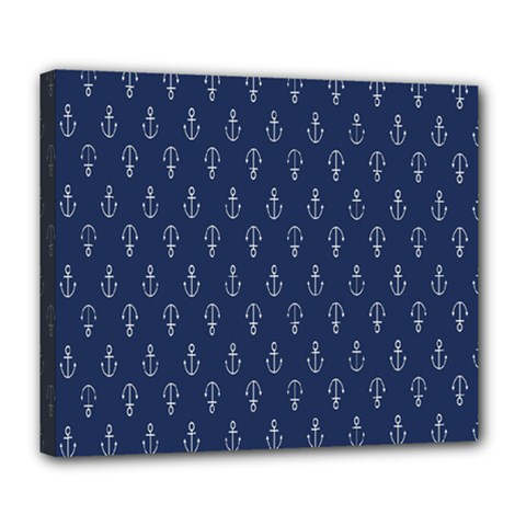 Anchor Pattern Deluxe Canvas 24  X 20