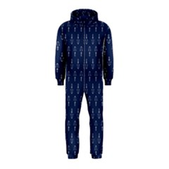 Anchor Pattern Hooded Jumpsuit (kids)