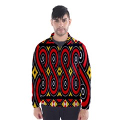 Toraja Traditional Art Pattern Wind Breaker (men)