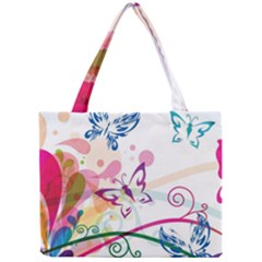 Butterfly Vector Art Mini Tote Bag