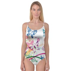 Butterfly Vector Art Camisole Leotard