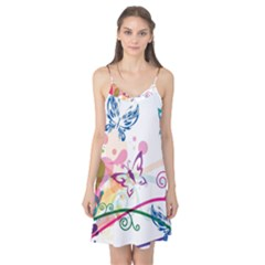 Butterfly Vector Art Camis Nightgown