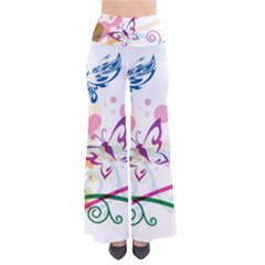 Butterfly Vector Art Pants