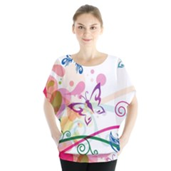 Butterfly Vector Art Blouse