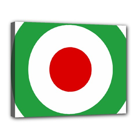 Iran Air Force Roundel Canvas 14  X 11