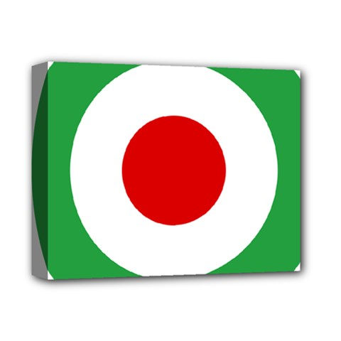 Iran Air Force Roundel Deluxe Canvas 14  x 11
