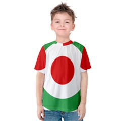 Iran Air Force Roundel Kids  Cotton Tee