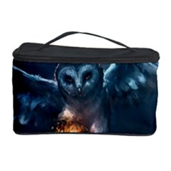 Owl And Fire Ball Cosmetic Storage Case