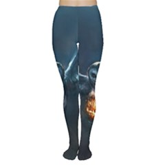 Owl And Fire Ball Women s Tights