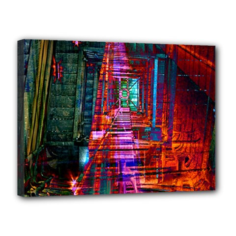 City Photography And Art Canvas 16  X 12