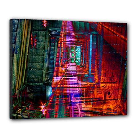 City Photography And Art Canvas 20  x 16