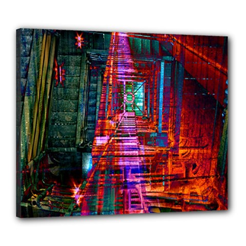 City Photography And Art Canvas 24  X 20