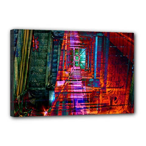 City Photography And Art Canvas 18  X 12