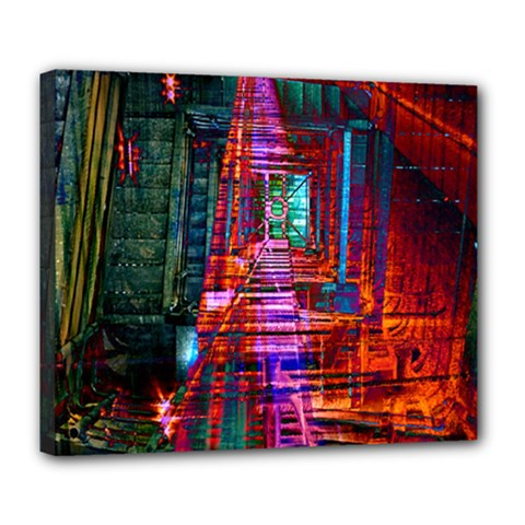 City Photography And Art Deluxe Canvas 24  X 20