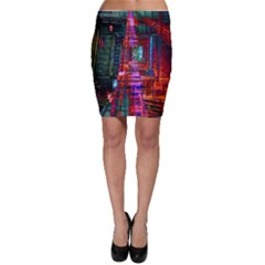 City Photography And Art Bodycon Skirt