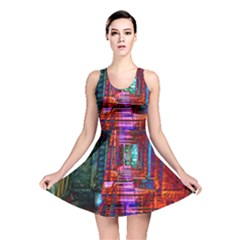 City Photography And Art Reversible Skater Dress