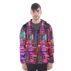 City Photography And Art Hooded Wind Breaker (men)