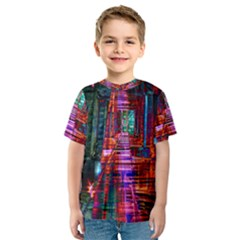City Photography And Art Kids  Sport Mesh Tee