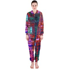 City Photography And Art Hooded Jumpsuit (Ladies)