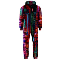 City Photography And Art Hooded Jumpsuit (men)