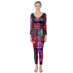 City Photography And Art Long Sleeve Catsuit