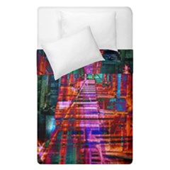 City Photography And Art Duvet Cover Double Side (single Size)