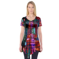 City Photography And Art Short Sleeve Tunic