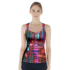 City Photography And Art Racer Back Sports Top