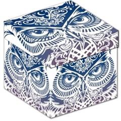 Owl Storage Stool 12