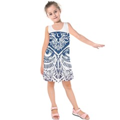 Owl Kids  Sleeveless Dress