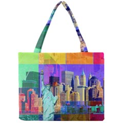 New York City The Statue Of Liberty Mini Tote Bag