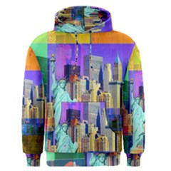 New York City The Statue Of Liberty Men s Pullover Hoodie