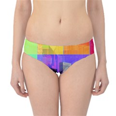 New York City The Statue Of Liberty Hipster Bikini Bottoms