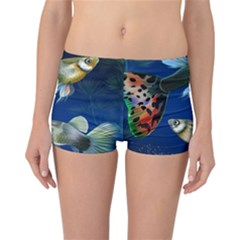 Marine Fishes Reversible Bikini Bottoms