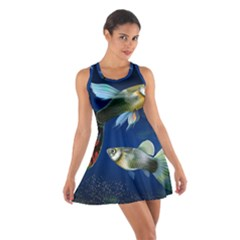 Marine Fishes Cotton Racerback Dress