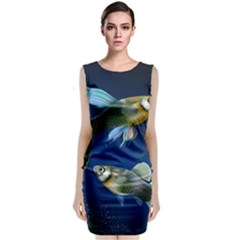 Marine Fishes Classic Sleeveless Midi Dress