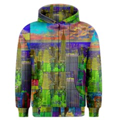 New York City Skyline Men s Zipper Hoodie