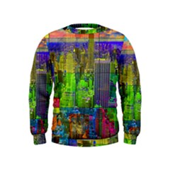New York City Skyline Kids  Sweatshirt