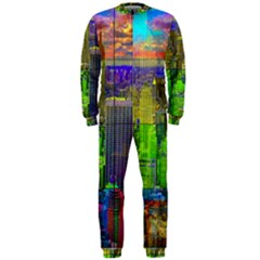 New York City Skyline Onepiece Jumpsuit (men)