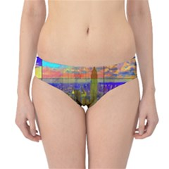 New York City Skyline Hipster Bikini Bottoms
